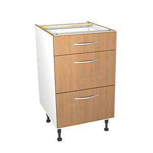 Wickes Oakmont Drawer Unit 500mm