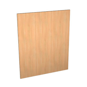 Wickes Oakmont Appliance Door (B) 600x731mm