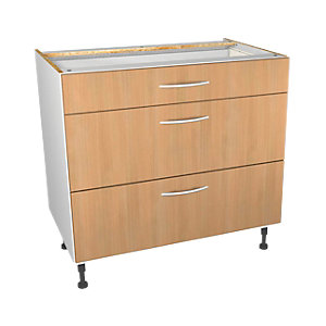 Wickes Oakmont Drawer Unit Pt 1 of 2 900mm