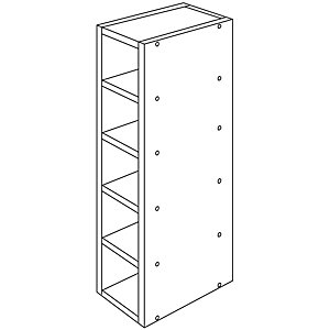 Wickes Oban Wine Rack 150mm
