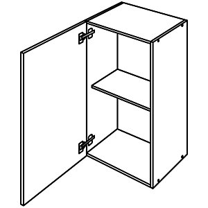Wickes New Jersey Wall Unit 500mm