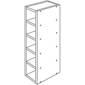 Wickes New Jersey Wine Rack 150mm