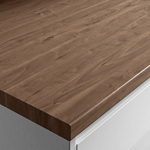 Wickes Matt Laminate Romantic Walnut Worktop 38x600mmx3m