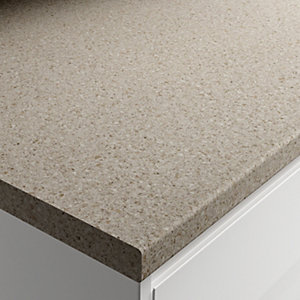 Wickes Matt Laminate Natural Stone Worktop 38x600mmx3m