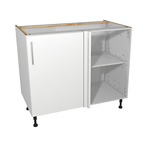 Orlando White Corner Base Unit 1000mm
