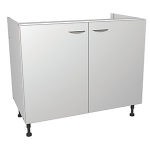Wickes Miami Base Unit White 1000mm