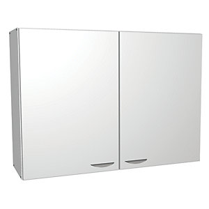 Wickes Miami Wall Unit White 1000mm