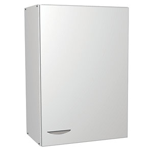 Wickes Miami Wall Unit White 500mm