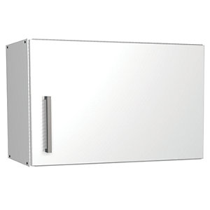 Wickes Houston Cooker Hood Unit Gloss White 600mm