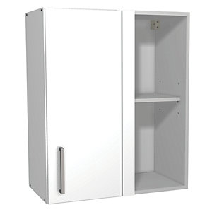 Wickes Houston Corner Wall Unit Gloss White 600mm