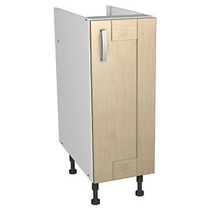 Wickes Daytona Base Unit Maple Effect 300mm