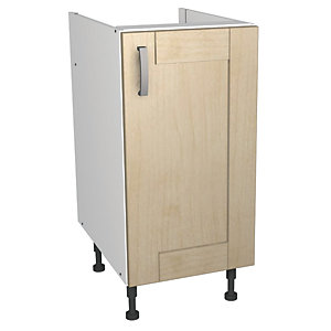 Wickes Daytona Base Unit Maple Effect 400mm
