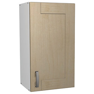Wickes Daytona Wall Unit Maple Effect 400mm