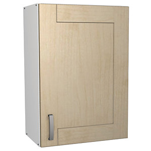 Wickes Daytona Wall Unit Maple Effect 500mm