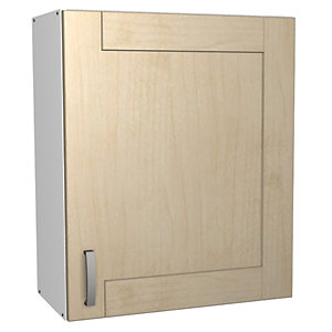 Wickes Daytona Wall Unit Maple Effect 600mm