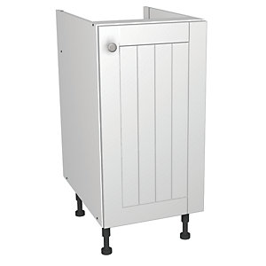 Wickes Edmonton Base Unit White Arch 400mm