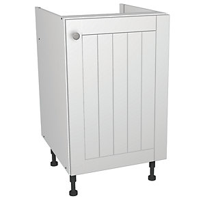 Wickes Edmonton Base Unit White Arch 500mm