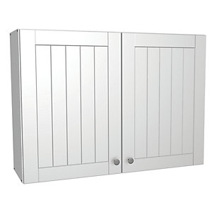 Wickes Edmonton Wall Unit White Arch 1000mm