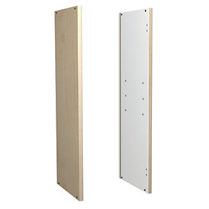 Wickes Daytona Replacement Wall End Maple Effect 726mm