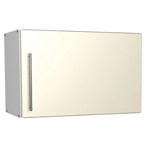 Wickes Costa Rica Cooker Hood Unit Gloss Cream 600mm