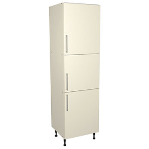 Wickes Costa Rica Larder/Appliance Unit Gloss Cream 600mm