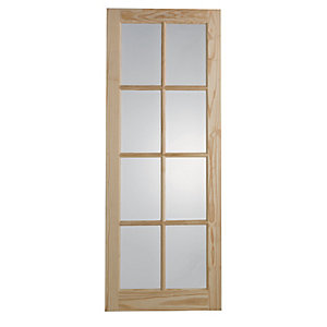 Wickes Newland Internal Glazed Door 8 Lite 1981 x 762mm