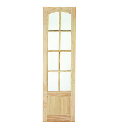wickes newland internal french door panel clear pine. Black Bedroom Furniture Sets. Home Design Ideas