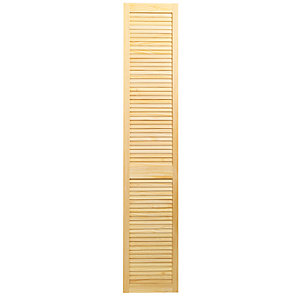 Wickes Internal Closed Louvre Door Pine 1981X381mm