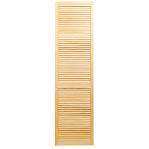 Wickes Internal Closed Louvre Door Pine 1981X533mm