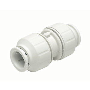 John Guest Speedfit PEM0422W Equal Straight Connector 22mm Coupling