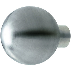 Wickes Bathroom Unit Handle Globe Handle Satin Nickel