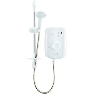 Wickes Aquatronic 4 Plus Electric Shower White 9.5kW