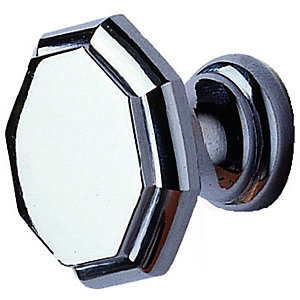 Wickes Bathroom Unit Handle Octagonal Handle Chrome