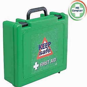 Keepsafe Standard 10 Person First Aid Kit HSE Specification