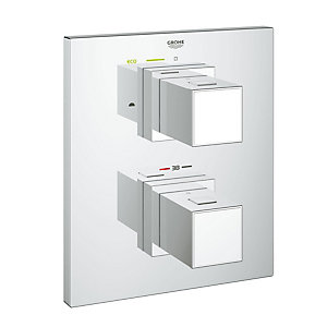 Grohe Grohtherm Cube Thermo 2Way Div without Body