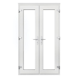 Pvcu french doors exterior french doors doors windows for White french doors exterior