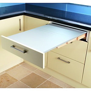 Wickes Pullout Table Stainless Steel