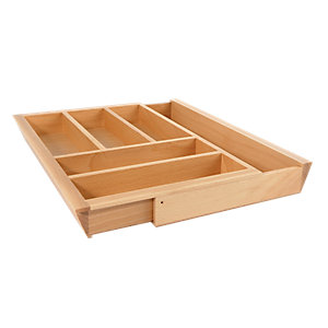 Wickes Extendable Cutlery Tray 800-100mm