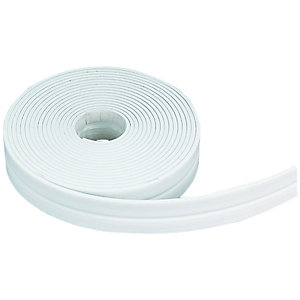 Wickes Flexible Bath Seal Self Adhesive White 3.5m