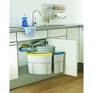 Wickes 3 Way Recycling Bin