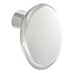 iflo Angled Oval Knob Stainless Steel 32mm - Aliano Accesory
