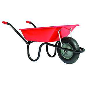 Wickes Leukaemia & Lymphoma Research Red Wheelbarrow 85L