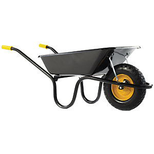 Wickes Puncture Free Wheelbarrow 85L