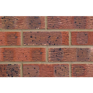 Lbc Claydon Multi Red Facing Brick 65mm