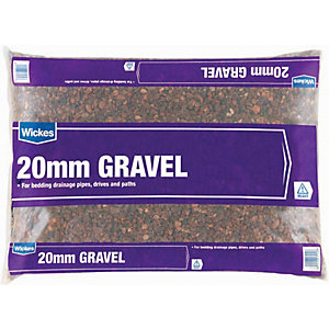 Wickes 20mm Gravel Pea Shingle Major Bag