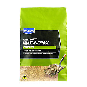 Wickes Ready Mixed Multi Purpose Concrete 25kg