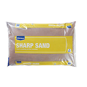 Wickes/Outdoors/Landscaping /Wickes Sharp Sand Major Bag