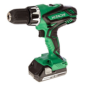 Hitachi 18V Combi Drill with 2x 2.5Ah Batteries