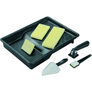 Wickes Paint Pad Tray Set