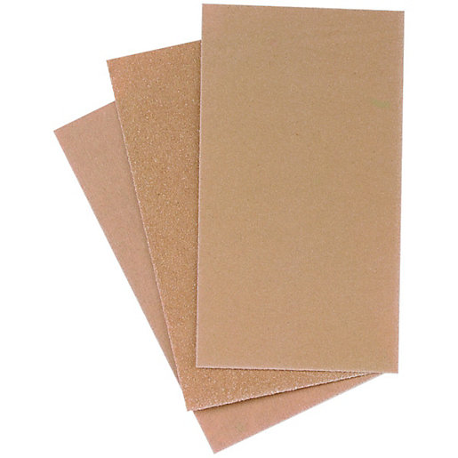 Wickes Sanding Block Paper Assorted 12 Pack Wickes Co Uk